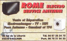 Rome electro service antenne